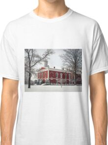 Courthouse in the Snow Classic T-Shirt