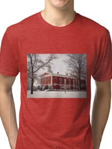Courthouse in the Snow Tri-blend T-Shirt