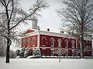 Courthouse in the Snow by FrankieCat