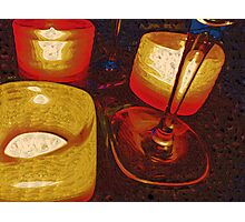By Candle Lights Photographic Print