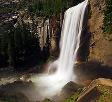 Vernal Fall from Mist Trail by Stephen Beattie