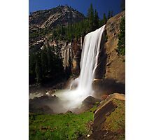 Vernal Fall from Mist Trail Photographic Print