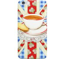 Big Old Blighty Cup of Tea! iPhone Case/Skin