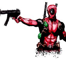 Deadpool by justin13art