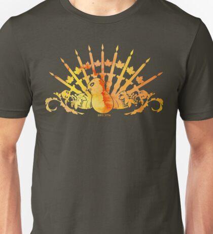 Thanksgivukkah, or Chunuksgiving  Unisex T-Shirt