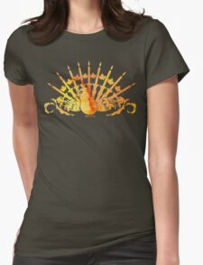 Thanksgivukkah, or Chunuksgiving  Womens Fitted T-Shirt