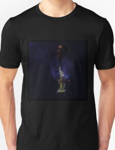 Blues in black - Jazz Trumpet Unisex T-Shirt