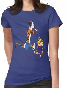 Calvin and Hobbes Jak And Daxter Womens Fitted T-Shirt