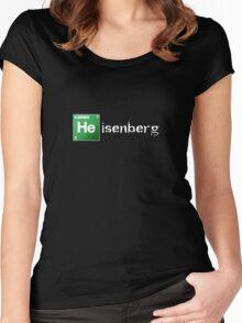 "Breaking Bad ""Heisenberg"" Shirt Women's Fitted Scoop T-Shirt"