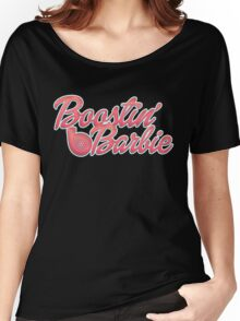 Boostin' Barbie Women's Relaxed Fit T-Shirt