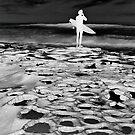Surfer Silhouette by shirtsapalooza