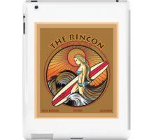 THE RINCON, QUEEN  OF THE COAST iPad Case/Skin