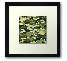 Camouflage Army Serie Framed Print