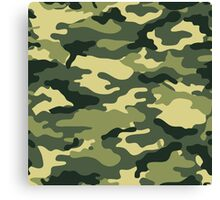 Camouflage Army Serie Canvas Print