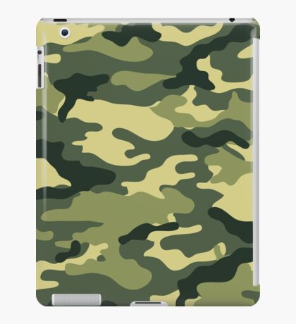 Camouflage Army Serie iPad Case/Skin