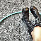 Hoop n Boots by joan warburton