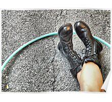 Hoop n Boots Poster