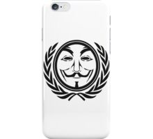 Anonymous community iPhone Case/Skin