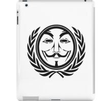 Anonymous community iPad Case/Skin