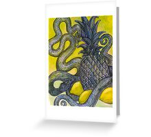 The Sweet and the Sour (Still Life with Snakes) Greeting Card