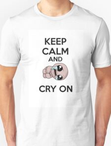 keep calm and cry on T-Shirt