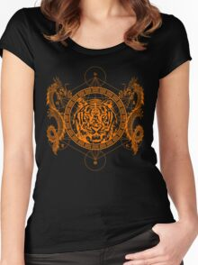 Mystic Tiger Women's Fitted Scoop T-Shirt