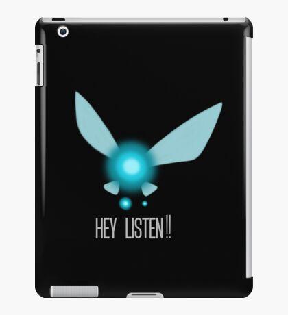 Navi Hey Listen! (Zelda) iPad Case/Skin