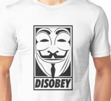 Anonymous Disobey Unisex T-Shirt