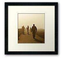 Del Rey Shadows Framed Print