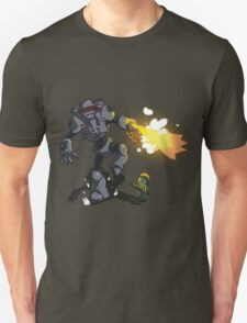 Chicks Dig Giant Robots T-Shirt