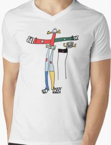 Five-year-old Voltron Mens V-Neck T-Shirt