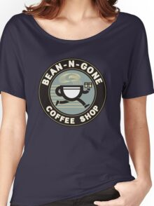 Bean N Gone Coffee Shop Women's Relaxed Fit T-Shirt