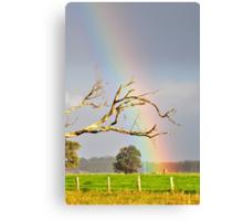 Heart of the Rainbow Canvas Print