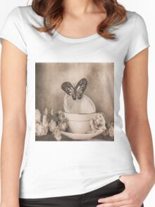 Afternoon Tea 3 Women's Fitted Scoop T-Shirt