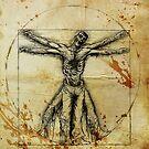 Vitruvian Zombie by David Lange