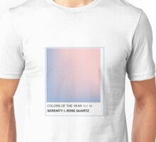 PANTONE 2016 COLORS OF THE YEAR Unisex T-Shirt