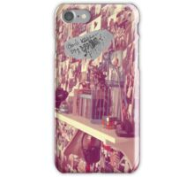 Don't kill my vibe iPhone Case/Skin