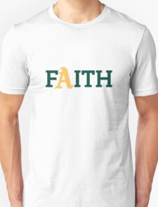 Oakland A's Faith T-Shirt