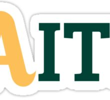 Oakland A's Faith Sticker