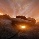 Balancing Sunset by Bob Larson