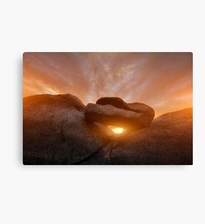 Balancing Sunset Canvas Print