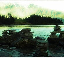 Rock cairns by geophotographic