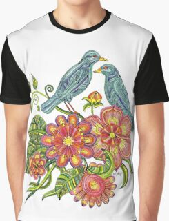 Fly Away With Me Graphic T-Shirt