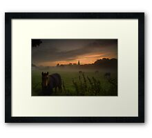 Morning Views Framed Print