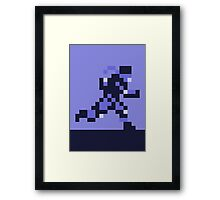 Snake on the Run - Metal Gear Solid Framed Print