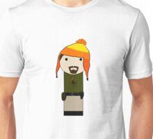 Cunning Hat Jayne kokeshi doll Unisex T-Shirt