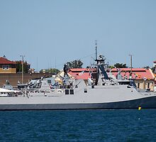 KRI Sultan Iskandar Muda (SIM-367) by Doug Cliff