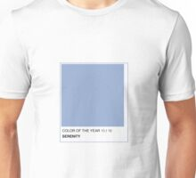 SERENITY PANTONE 2016 COLOR Unisex T-Shirt