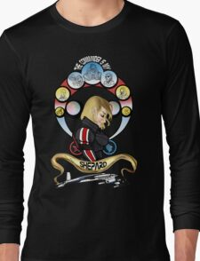 The Commander is my Shepard (BLONDE EDITION) Long Sleeve T-Shirt