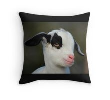 Baby Billy Goat Throw Pillow